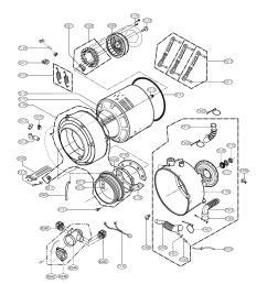 lg model wm1832cw residential washers genuine parts source washing machine wiring diagram ponent  [ 3307 x 4672 Pixel ]