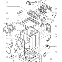 Lg Washing Machine Parts Diagram Led Strobe Light Circuit Washer Model Wm2032hs Sears Partsdirect