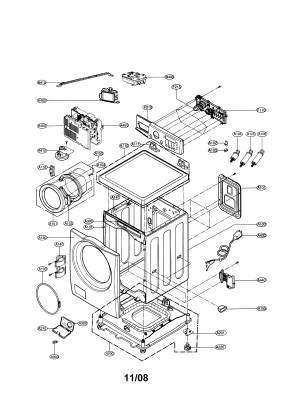 LG RESIDENTIAL WASHER Parts | Model WM2688HNMA | Sears