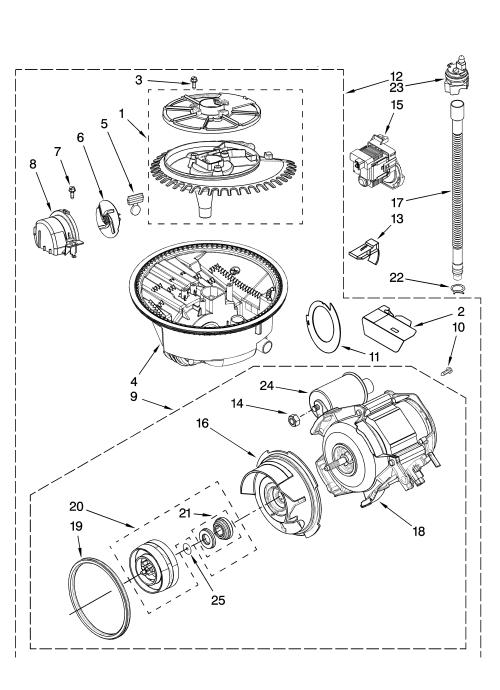 small resolution of kenmore model 66513739k601 dishwasher genuine parts ge range wiring diagram kenmore dishwasher motor wiring diagram