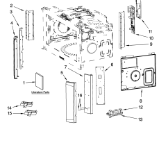 Whirlpool Microwave Hood Wiring Diagram 2004 Dodge Caravan Ignition Coil Kenmore Combo Parts Model 66588543900