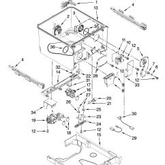 Kenmore Elite Parts Diagram 2000 Mitsubishi Mirage Stereo Wiring Full Size