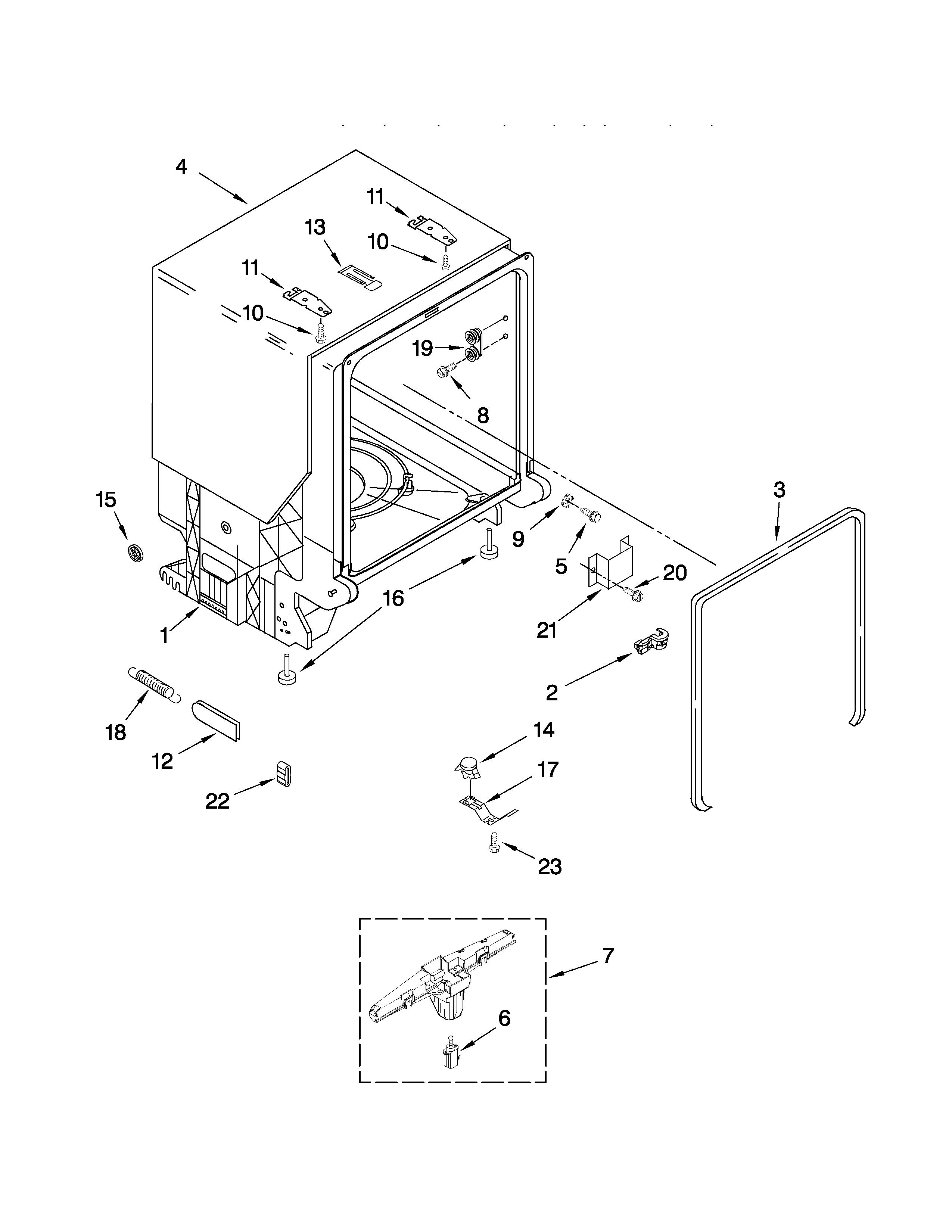 Wiring Diagram For Kenmore Dishwasher