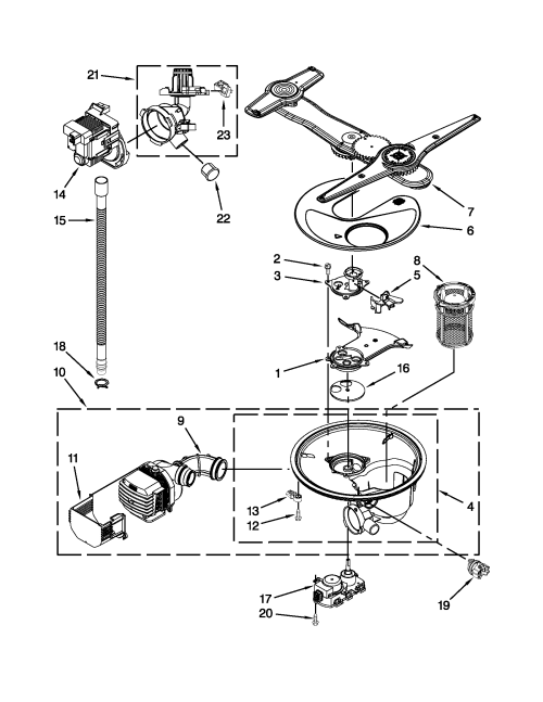 small resolution of kenmore elite dishwasher schematic wiring diagram blog mix looking for kenmore elite model 66513963k013 dishwasher repair