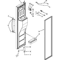 Kenmore Elite Parts Diagram Floral Of Hibiscus Flower Refrigerator Model 10651163210