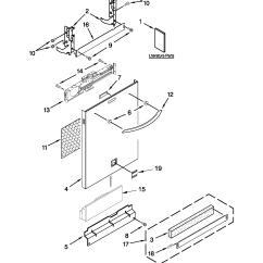 Kenmore Elite Parts Diagram Wireless Directv Genie Connections Dishwasher Model 66512783k310