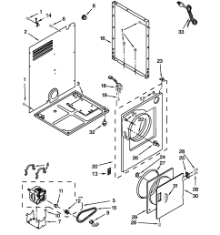 sears canada model 110c84722402 residential dryer genuine parts wiring diagram diagram and parts list for sears canada dryerparts [ 1700 x 2201 Pixel ]