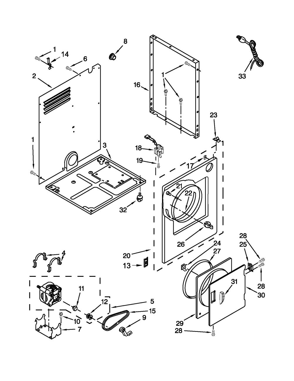medium resolution of sears canada model 110c84722402 residential dryer genuine parts wiring diagram diagram and parts list for sears canada dryerparts
