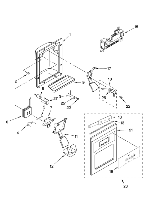 small resolution of diagram of ice dispenser images gallery
