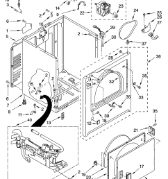 sears dryer schematic wiring diagrams scematic sears dryer model 1107092299 diagram kenmore model 11078432700 residential dryer [ 3348 x 4623 Pixel ]