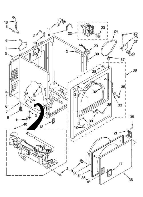 small resolution of sears dryer schematic wiring diagrams scematic sears dryer model 1107092299 diagram kenmore model 11078432700 residential dryer