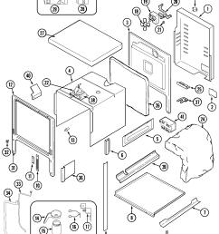jenn air svd48600p body diagram [ 2057 x 2441 Pixel ]