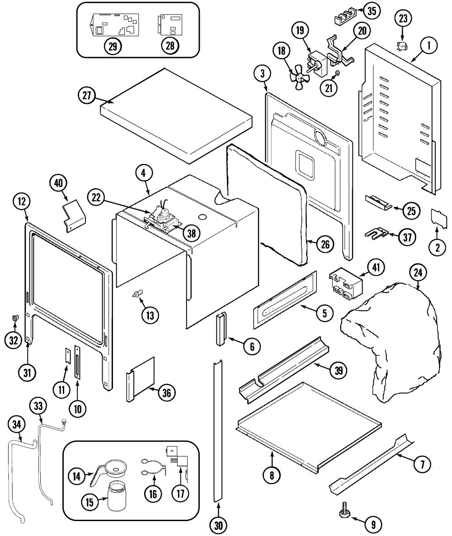 medium resolution of jenn air svd48600p body diagram