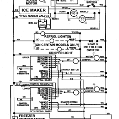 Maytag Refrigerator Wiring Diagram Pit Bike Electric Start Information And Parts List For Model