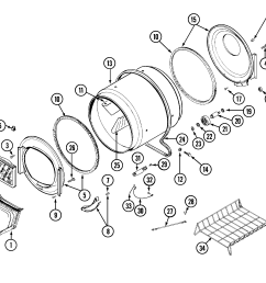 maytag performa dryer motor wiring diagram [ 2229 x 1913 Pixel ]