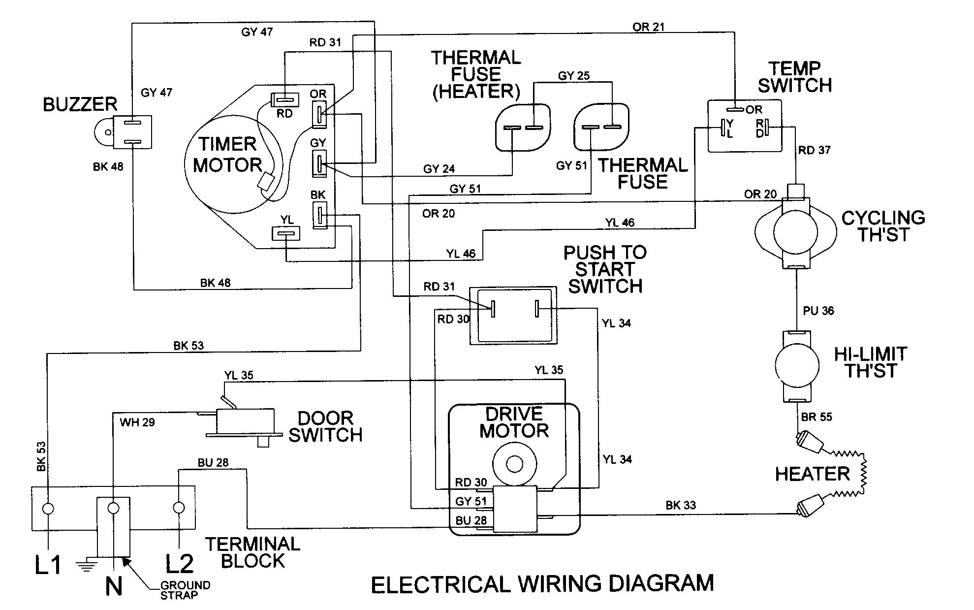 maytag refrigerator thermostat schematic diagram 2000 dodge caravan belt dryer wiring photos