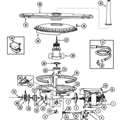 Maytag Dishwasher Wiring Diagram Rat Muscle Anatomy Pump And Motor Parts List For Model Pdb2430awx