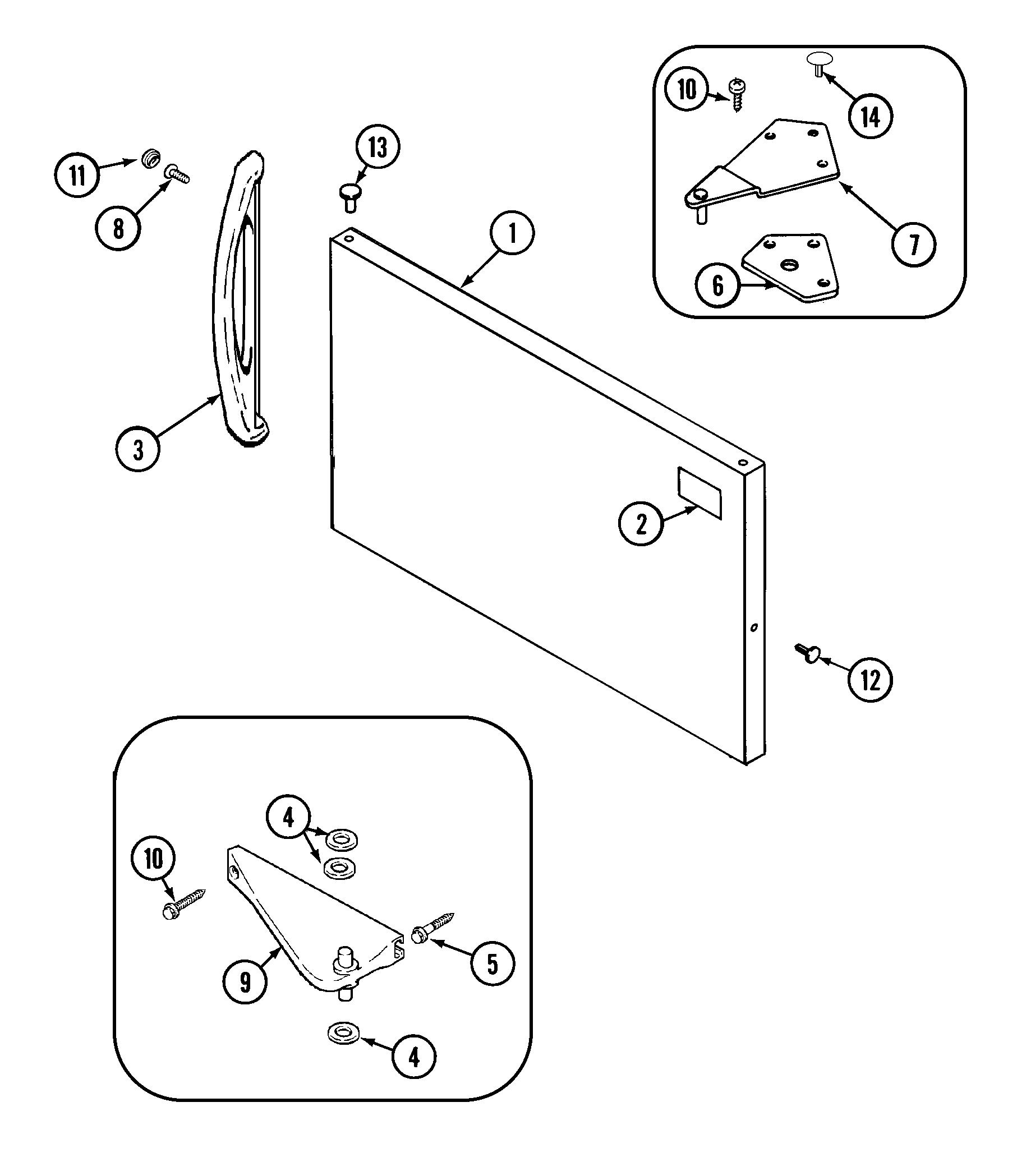 MAGIC CHEF Refrigerator Optional ice maker kit-uk