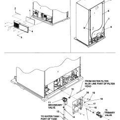 Whirlpool Conquest Ice Maker Diagram 2008 Cobalt Lt Radio Wiring Kenmore Coldspot Model 106 Refrigerator Parts Within