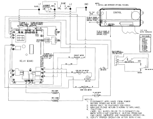 Wiring Diagram for a JennAir JMW9527CAB wall oven