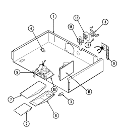 jenn air w30400p internal controls w30400p pc diagram [ 1633 x 1744 Pixel ]