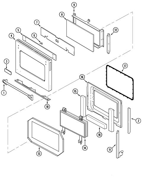 small resolution of jenn air w30400p door w30400p pc diagram