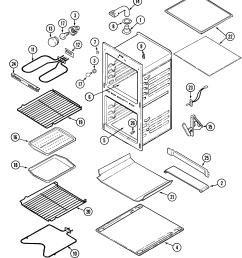 magic chef model 9825vuv built in oven electric genuine partsmagic chef oven wiring diagram  [ 2221 x 2549 Pixel ]