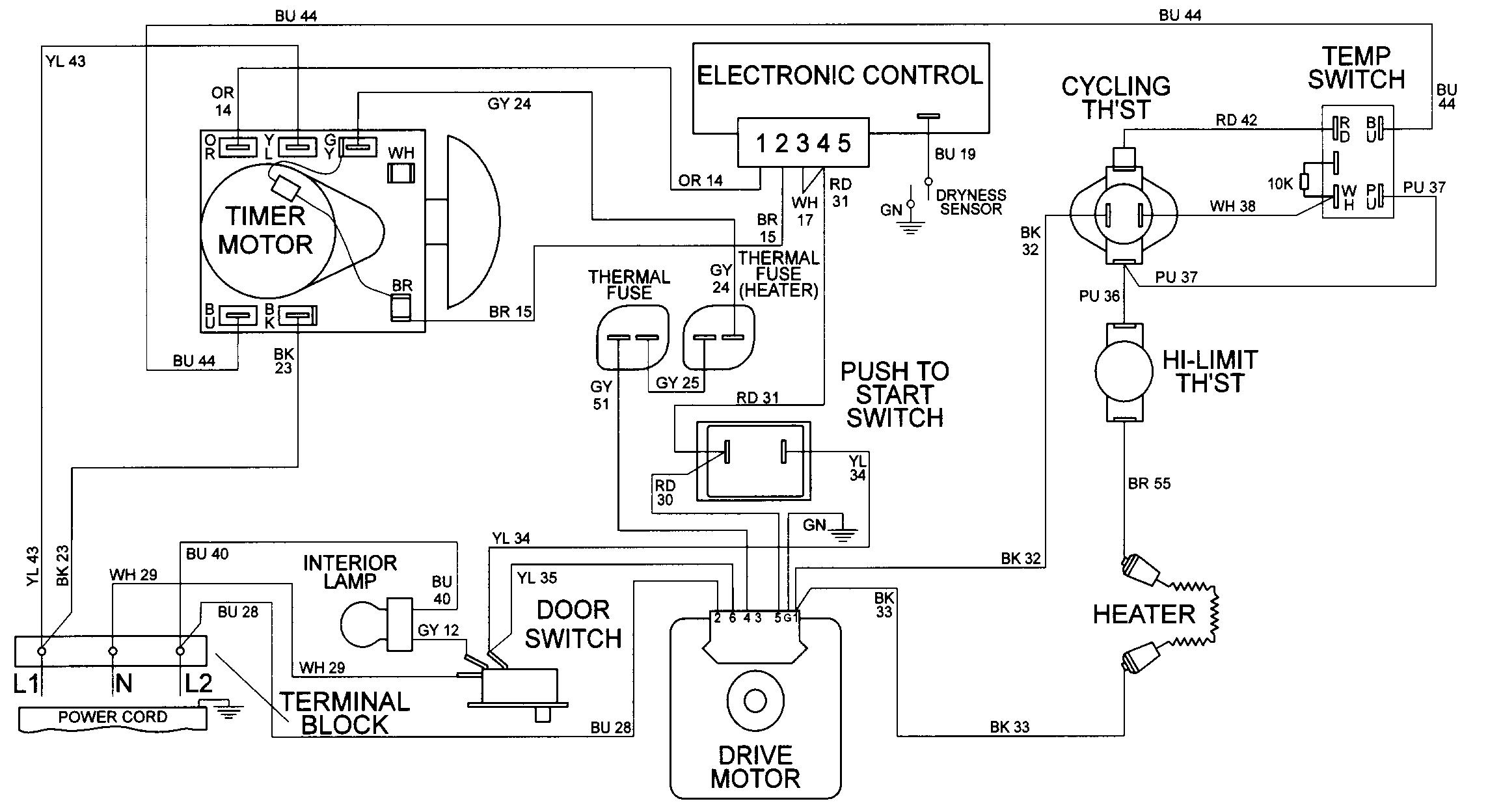 medium resolution of maytag mde9606azw wiring information diagram