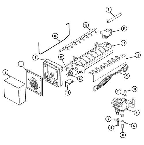 small resolution of chevy v 8 engine exploded view diagram