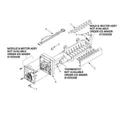 Maytag Refrigerator Thermostat Schematic Diagram Suzuki Eiger Quadrunner Wiring Model Psd264lgrw Ppsd264lgw0 Side By Genuine Parts