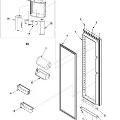 Amana Fridge Wiring Diagram Gm Trailer Hitch Refrigerator Parts Model