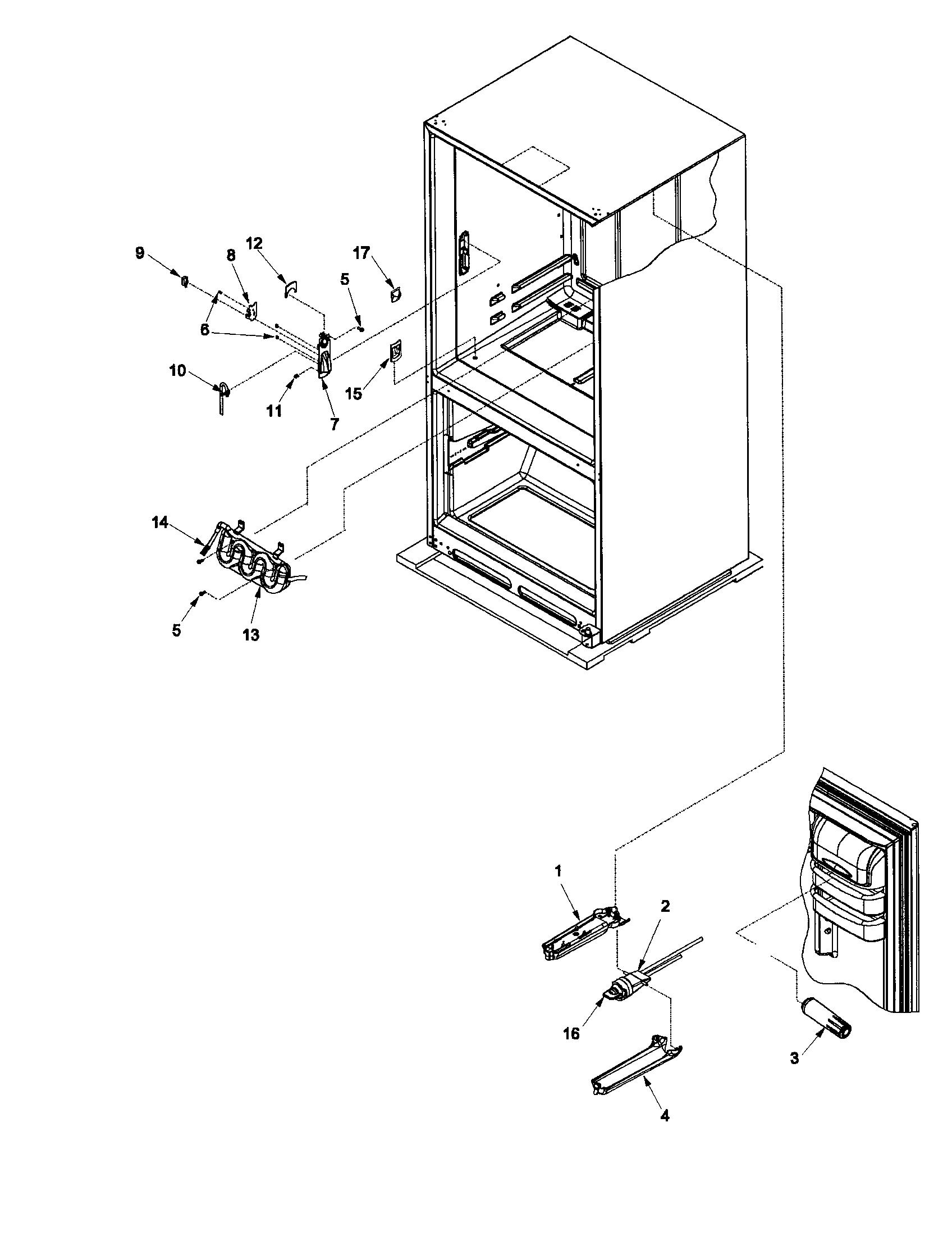 Amana Refrigerator: Amana Refrigerator Ice Maker Parts