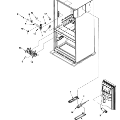 Amana Fridge Wiring Diagram 2003 Gmc Yukon Denali Radio Refrigerator Ice Maker Parts