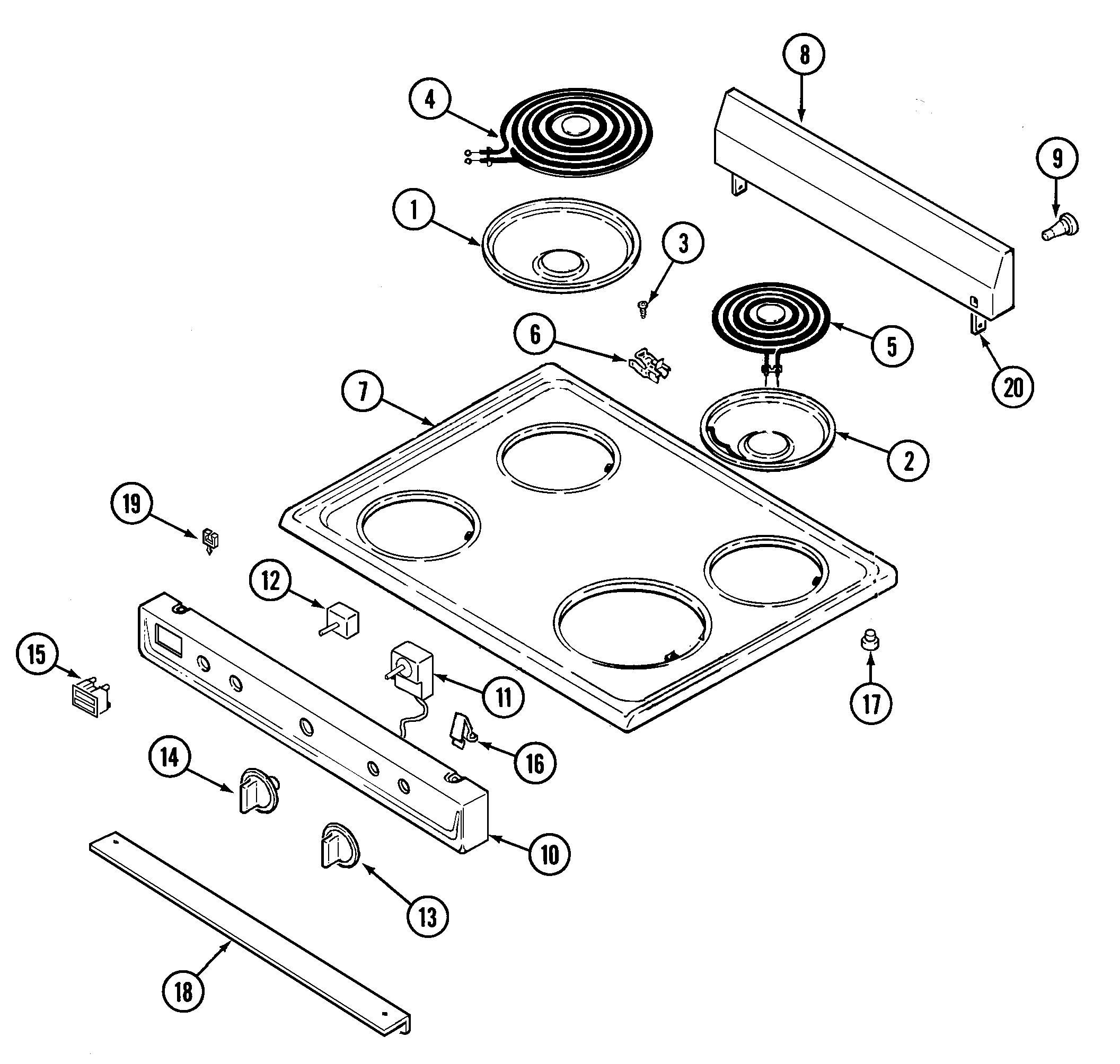 Electric Stove: Electric Stove Parts