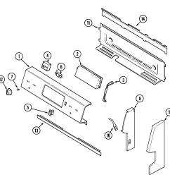 maytag mer5511baw control panel diagram [ 1937 x 1865 Pixel ]