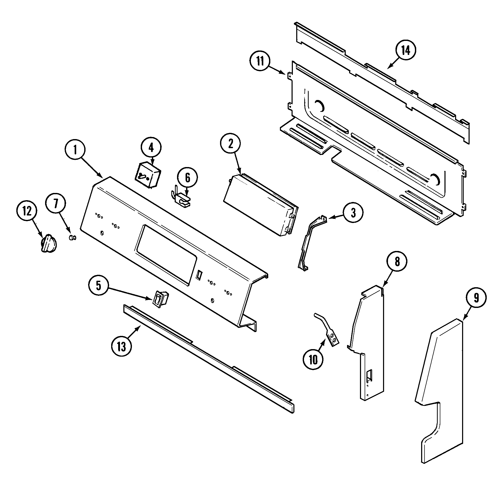 hight resolution of maytag mer5511baw control panel diagram