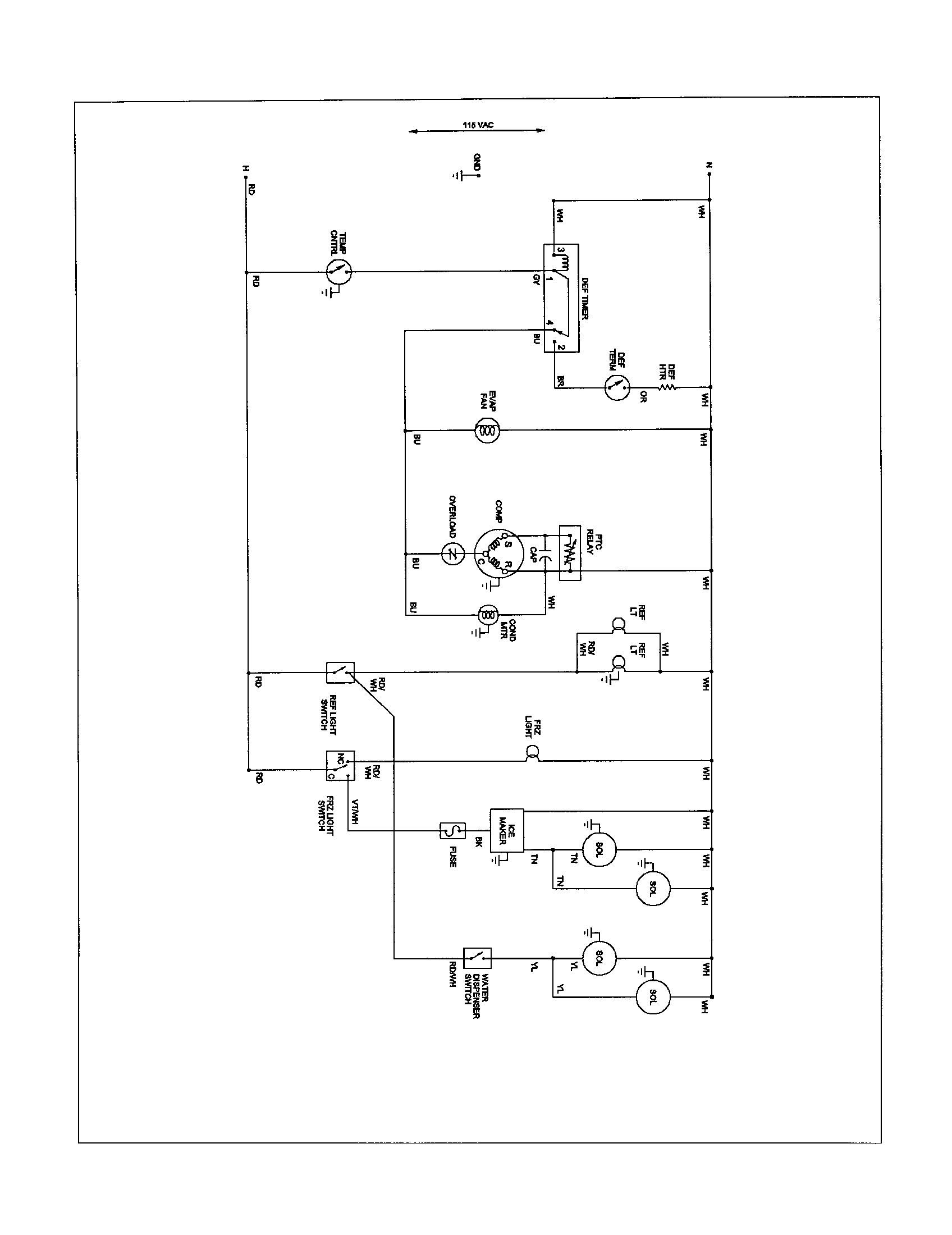 hight resolution of amana ice maker wiring diagram