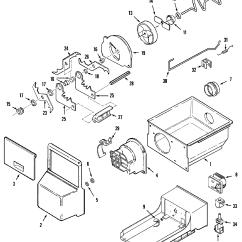 Jenn Air Refrigerator Parts Diagram 1979 Trans Am Starter Wiring Model Jcd2389deb Side By Genuine