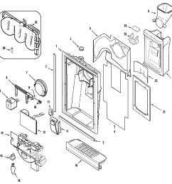 whirlpool refrigerator pressor wiring diagram [ 2394 x 2394 Pixel ]