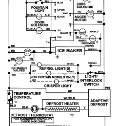 wire diagram for ge refrigerator model 22 25 [ 1452 x 2867 Pixel ]
