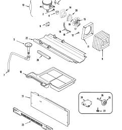 maytag mzd2768gew compressor diagram [ 2394 x 2940 Pixel ]