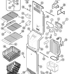 whirlpool refrigerator pressor wiring diagram [ 2394 x 2831 Pixel ]