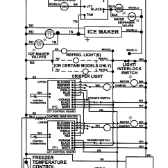 Maytag Refrigerator Wiring Diagram How To Design A Circuit Side By Ice Maker Parts Model