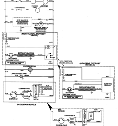 crosley model ct19g6fw top mount refrigerator genuine parts magic chef oven parts magic chef microwave wiring diagram [ 2322 x 2897 Pixel ]