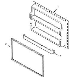 maytag ptb1953gew freezer inner door diagram [ 2394 x 2710 Pixel ]