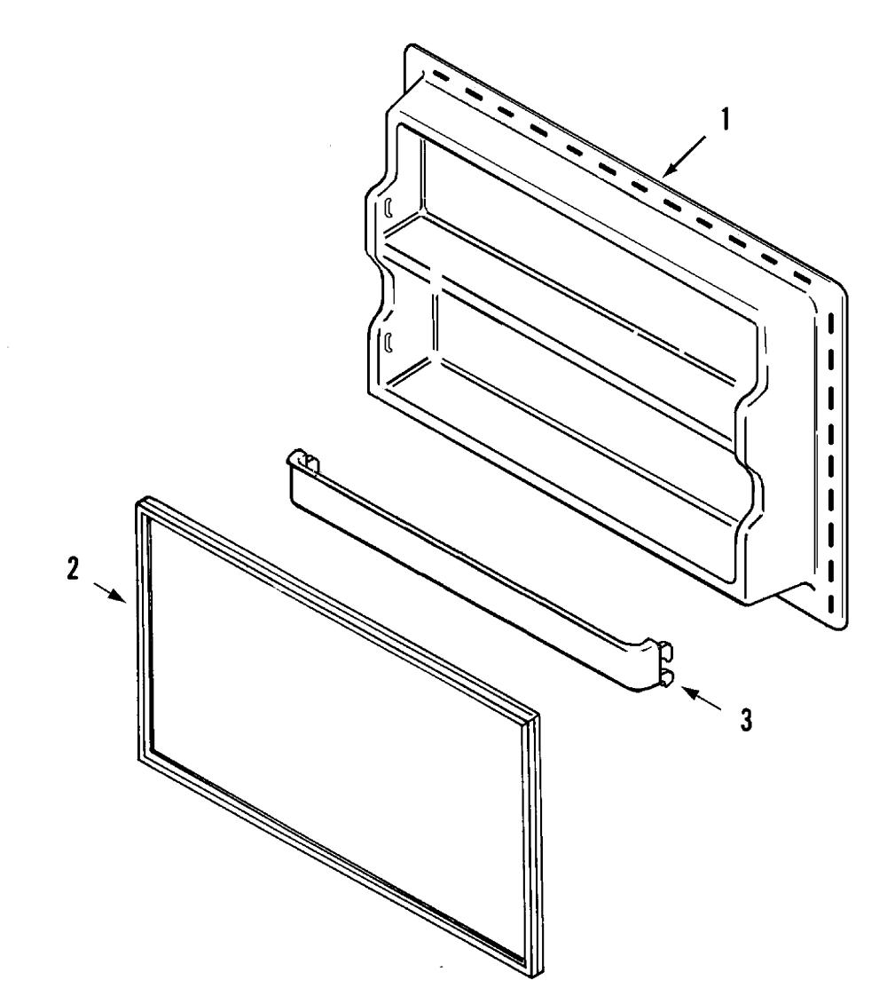 medium resolution of maytag ptb1953gew freezer inner door diagram