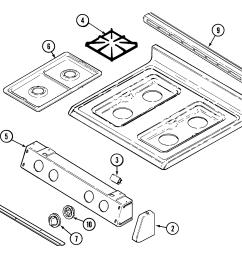 magic chef range parts model cgrada sears partsdirect magic chef refrigerator wiring diagram  [ 1957 x 1633 Pixel ]