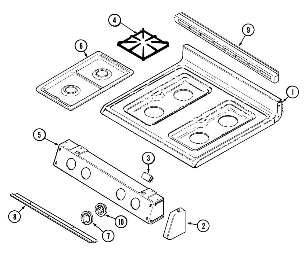 medium resolution of magic chef range parts model cgrada sears partsdirect magic chef refrigerator wiring diagram