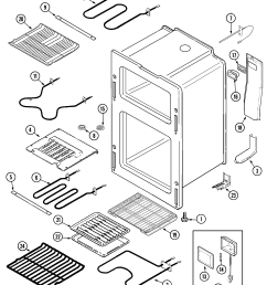 maytag mer6772bac oven diagram [ 2250 x 2681 Pixel ]