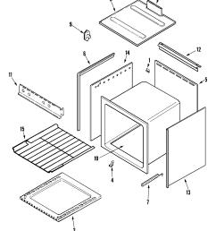 magic chef model cly1620adb range sub assemblies genuine parts holiday gas stove rv stove diagram [ 2394 x 2929 Pixel ]